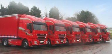 Boyle Transport - Six new Stralis'