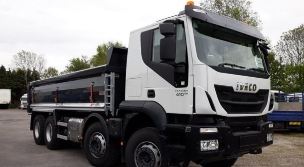 New Iveco Trakker Tipper