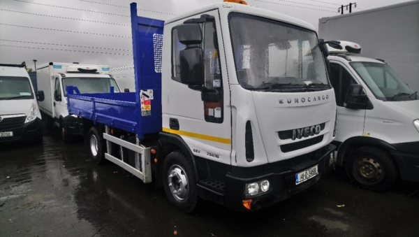 Used Eurocargo 7.5t Tipper