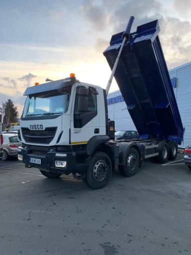 Selection of two Iveco Trakker Tipper available for sale or contract hire